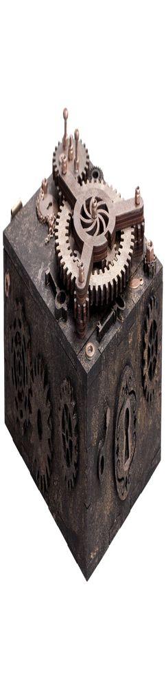 Шкатулка с секретом Gearbox, большая фото