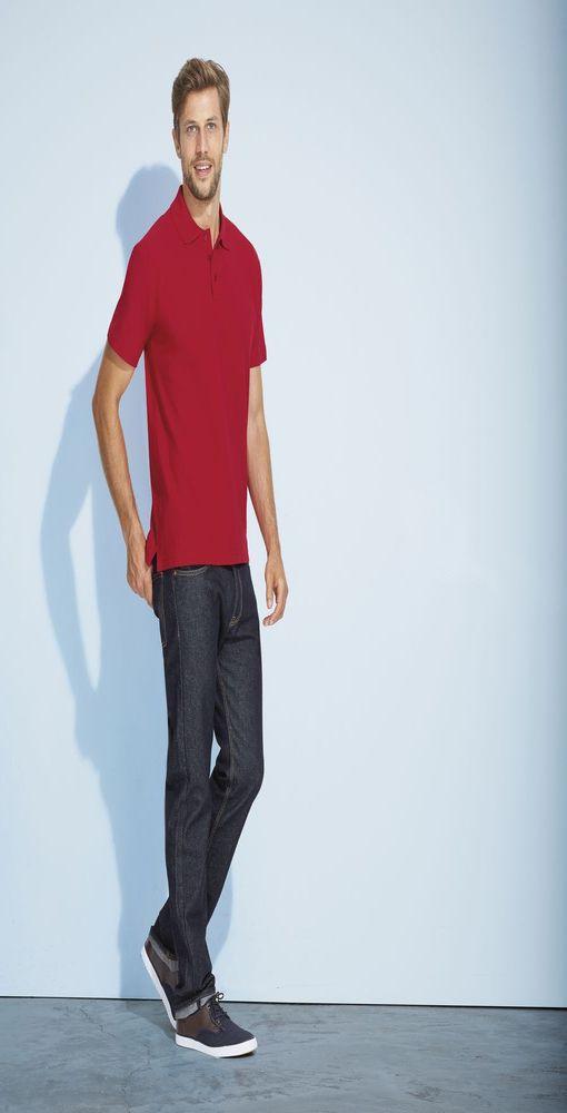 Рубашка поло мужская SUMMER 170, белая фото