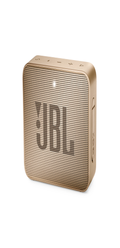 Портативная колонка JBL GO 2, шампань фото