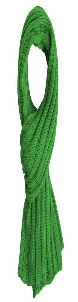 Шарф Chain, оливковый фото