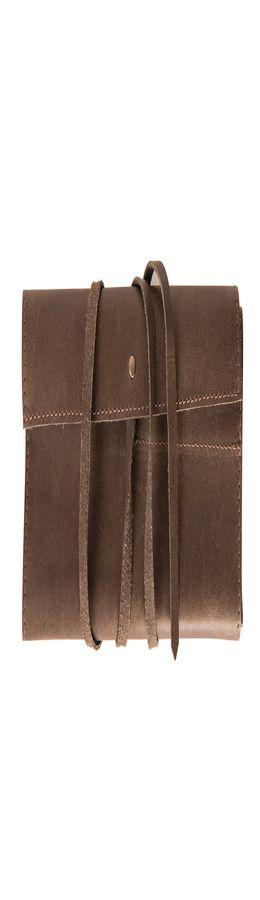 """Органайзер кожаный,""""LOFT"""", коричневый, кожа натуральная 100% фото"""