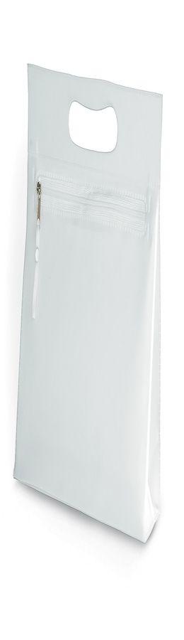 "Косметичка  ""AQUARIUM"",  ПВХ, 24x22x7,5 см, белый фото"