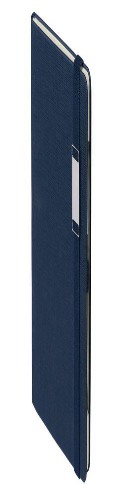 Блокнот «Энигма», синий фото