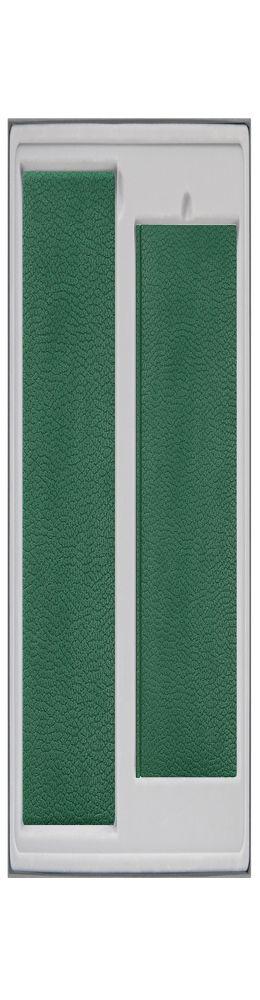 Подарочный набор DALLAS,зеленый(Ежедневник недат А5,Визитница) до 2017 г. фото