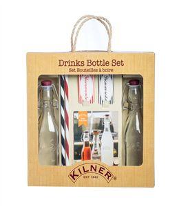 Подарочный набор из 2 бутылок и трубочек фото