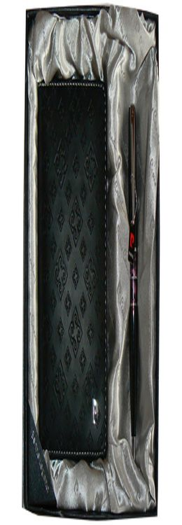 Набор: ручка шариковая, обложка для паспорта фото