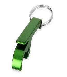 Брелок-открывалка, зеленый фото