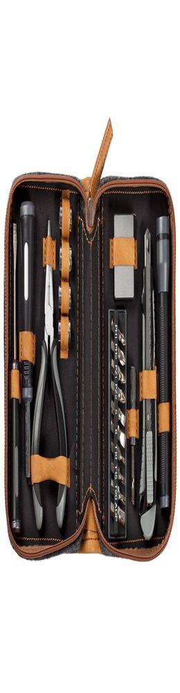 Набор инструментов в чехле Standart, серый фото