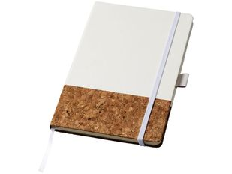 Блокнот в линейку на резинке Journalbooks Evora А5, 80 листов, белый фото