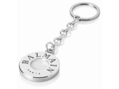 Брелок Balmain Deauville, серебряный/белый фото