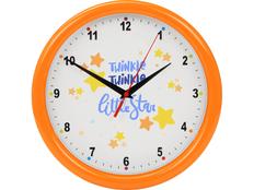 Часы настенные разборные Idea, оранжевый фото