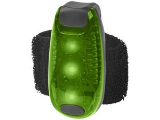 Фонарик Rideo, черный/ зеленый фото
