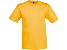 Футболка детская US Basic Heavy Super Club, желтая фото