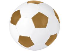 Футбольный мяч Curve, белый/ золотой фото