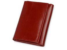 Ключница с отделением для банкнот, бордовый фото