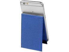 Картхолдер с защитой RFID / подставка для телефона, синий фото