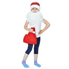 Костюм карнавальный Дед Мороз, в мешке фото