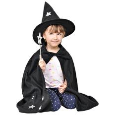Костюм карнавальный Волшебник, черный фото