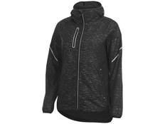 Куртка складная светоотражающая женская Signal, черная фото