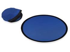 Фрисби Летающая тарелка в чехле, синяя фото
