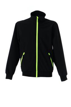 Куртка LUGANO софтшел водонеприницаемый, черный фото