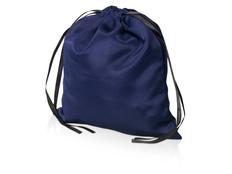 Мешочек подарочный сатиновый L, синий фото