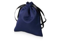Мешочек подарочный сатиновый S, синий фото