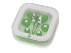Наушники проводные внутриканальные Earflap, зеленые фото