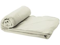 Плед флисовый Huggy в чехле, серый фото