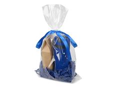 Набор подарочный Levita: чай и термокружка, синий фото