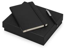 Набор подарочный Moleskine Picasso: блокнот А5, ручка шариковая, черный фото