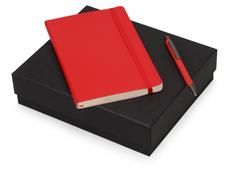 Набор подарочный Moleskine Van Gogh: блокнот А5, ручка шариковая, красный фото