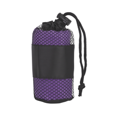 Полотенце для фитнеса Тонус, фиолетовый фото