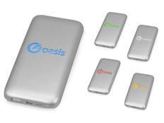 Зарядное устройство портативное Xoopar Bubble Bang, 5000 mAh, серебристое фото