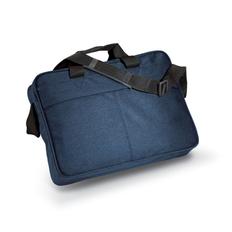 Портфель для документов, регулируемый наплечный ремень, полиэстер, синий фото