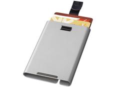 Чехол для карт с RFID, серый, серый фото