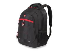 Рюкзак с отделением для ноутбука 15'' WENGER, черный/красный фото