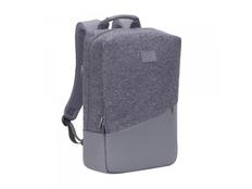 "Рюкзак Rivacase для для MacBook Pro 15"" и Ultrabook 15.6"", серый/ серый меланж фото"