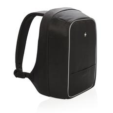 Рюкзак для ноутбука Swiss Peak с защитой от карманников, черный фото