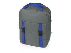 Рюкзак Lock с отделением для ноутбука, синий/ серый фото