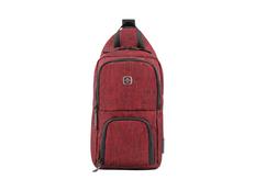 Рюкзак с одним плечевым ремнем, красный фото