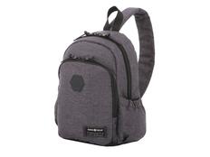 """Рюкзак с отделением для ноутбука 13"""" Swissgear, темно-серый меланж/ черный фото"""