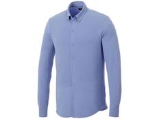 Рубашка с длинным рукавом мужская Elevate Bigelow, голубая фото
