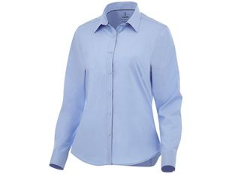 Рубашка женская с длинными рукавами Elevate Hamell, синяя фото