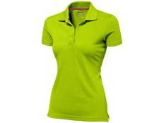 Футболка поло женская Slazenger Advantage, зеленая фото