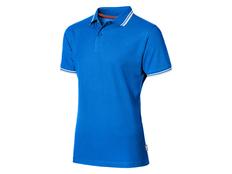 Футболка поло мужская Slazenger Deuce, голубая фото