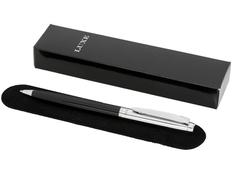 Ручка шариковая металлическая Luxe Cepheus, черная / серебристая фото