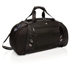 Спортивная сумка Swiss Peak, из сверхпрочного полиэстера прочностью 600D и 1680D, черный фото