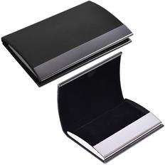 Визитница Конгресс 6,5х9,6см, черный фото