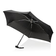 Зонт складной компактный механический Swiss Peak Mini, черный фото